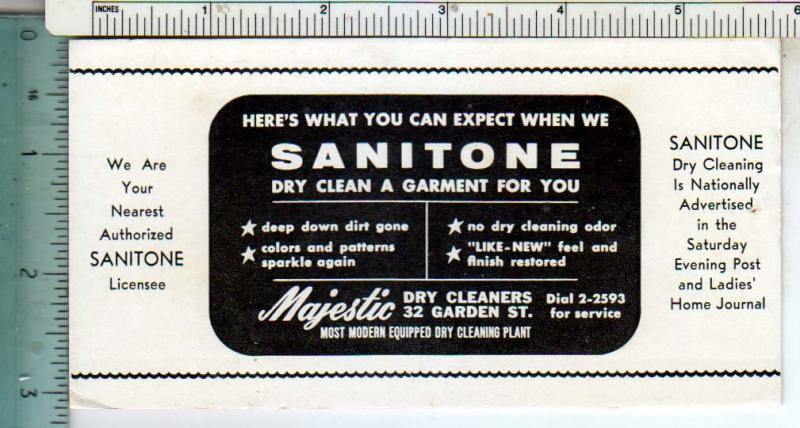 Sanitone , Majestic Dry Cleaning