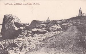 Fog Whistle and Lighthouse, Yarmouth, Nova Scotia, Canada, 00-10s