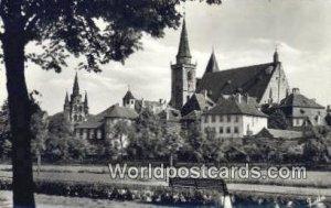 Blick zur Gumbertus und Johanniskirche Ansbach Germany Unused
