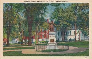 Hannah Dustin Monument - Haverhill MA, Massachusetts - Linen