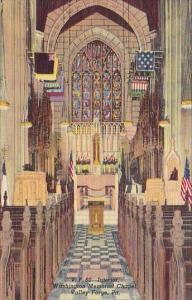 Pennsylvania Valley Forge Washington Memorial Chapel Interior
