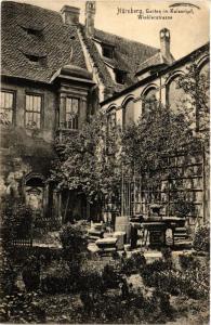 CPA AK Nürnberg Garten im Kaiserhof  Winklerstrasse GERMANY (645341)