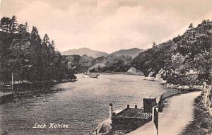 Scotland, UK Old Vintage Antique Post Card Loch Katrine Unused