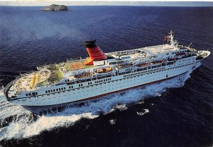 Cunard Princess Cunard Line Ship Postal Used Unknown