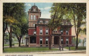 Public Library, North Adams, Massachusetts, PU-1924