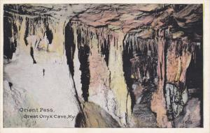 KENTUCKY, 1900-1910's; Orient Pass, Great Onyx Cave