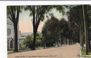 HUDSON FALLS, New York, 00-10s; Looking up Main St. from Masonic Temple
