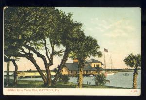 Daytona, Florida/FL Postcard, Halifax River Yacht Club