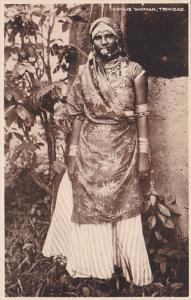 Trinidad Coolie Woman In Traditional Dress