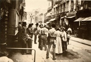 NY - New York City. Pell Street in Chinatown, 1898. (1976 Repro of old Photo)