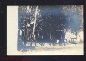 RPPC MADRID IOWA SAM KNELTON RESIDENCE VINTAGE REAL PHOTO