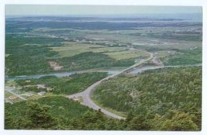 Entrance of Cape Breton Highlands National Park, Petit Etang, Cape Breton NS Can