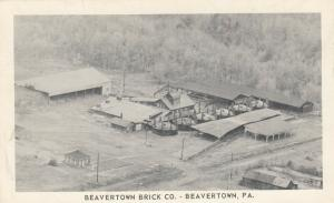 BEAVERTOWN , Pennsylvania, 1930-50s; Beavertown Brick Co.
