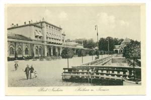 Kurhaus m. Terrasse, Bad Nauheim (Hesse), Germany, 1900-1910s