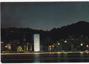 HONG KONG, China, PU-1981; Night Scene