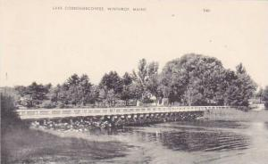 Maine Winthrop Lake Cobbosseecontee