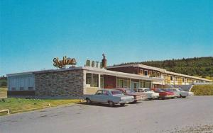 Classic Cars, The Skyline Motel, TransCanada Highway, St. John's, Newfoundlan...