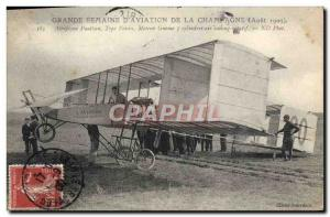 Old Postcard Jet Aviation Great week of & # 39aviation Champagne August 1909 ...