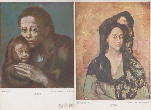 Pablo Picasso Maternite Portrait De M 2x Catalunya Art Gallery ...