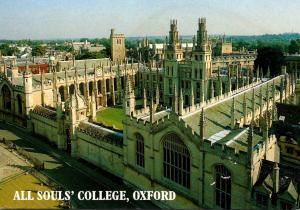 England Oxford All Souls' College