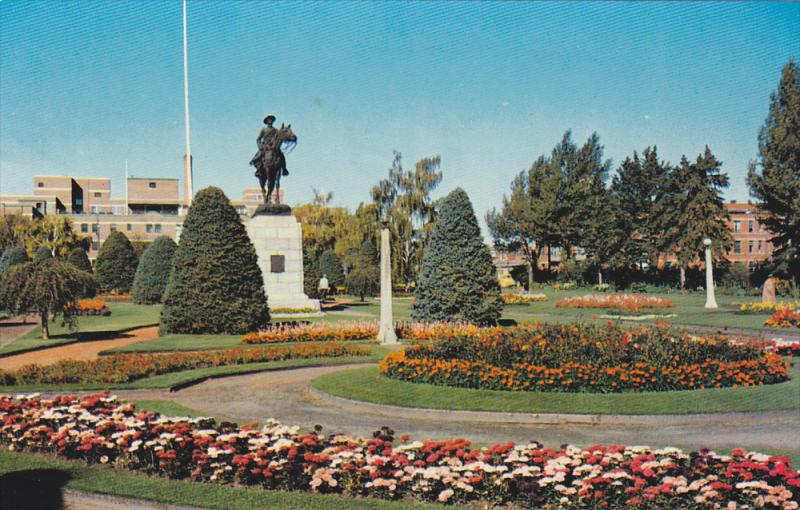 The beautiful Central Park in Calgary,  Alberta,  Canada,  PU_1959