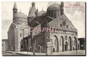 Old Postcard Padova Basilica di S Antonio