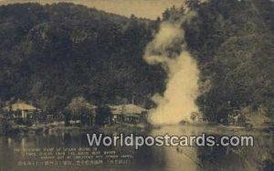 Steam Rising, Umijigoku Hot Spring Beppu Japan Unused