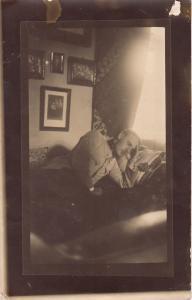 RPPC REAL PHOTO POSTCARD 1916 MILITARY MAN IN UNIFORM
