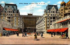 New Jersey Atlantic City Hotel Dennis 1945