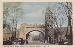 St. Louis Gate, Quebec, Canada, 1900-1910s