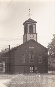 Methodist Church Erected 1840 Searsport Maine Real Photo