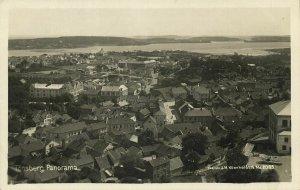 norway norge, TØNSBERG, Panorama (1920s) RPPC Postcard