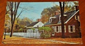 Postcard Colonial Homes Dearborn INN Michigan Whitman Poe Fritchie CURTEICHCOLOR