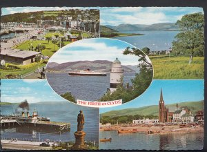 Scotland Postcard - Views of The Firth of Clyde     LC5587