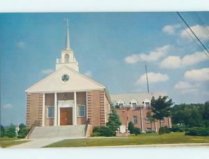 Unused Pre-1980 CHURCH SCENE Milford Delaware DE p3800@