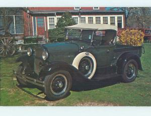 1975 postcard FORD 1930 MODEL A ROADSTER PICKUP hn5134