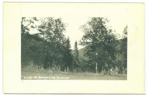 RPPC, View in Madeleine Portage
