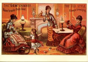 Advertising - The Gem Chimney  (Reproduction)