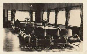 RP: MT MCKINLEY , Alaska , 1942 ; National Park Hotel Interior