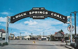 ROCK SPRINGS , Wyoming , 1950-60s ; Main Street