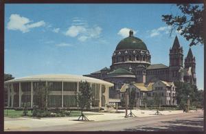 Chancery Catholic Cathedral Church Saint Louis Archdiocese Missouri Postcard