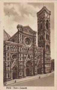 Italy Firenze Duomo e Campanile
