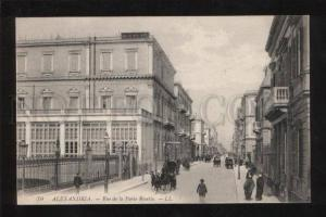 061242 EGYPT Alexandria Porte Rosette street Vintage