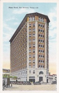 SAN ANTONIO, Texas, 1900-1910´s; Plaza Hotel