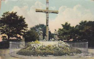 Cross, Calvary, Pant Asaph, Holywell, Wales, UK, 1900-1910s