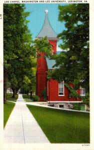 Virginia Lexington The Lee Chapel Washington & Lee University