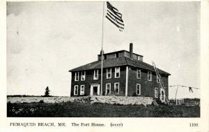 ME - Pemaquid Beach. Fort House