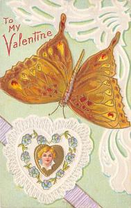 St. Valentines Day Postcard PU 1910