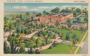 MIAMI , Florida , PU-1938 ; Sun-Ray Park Health Resort