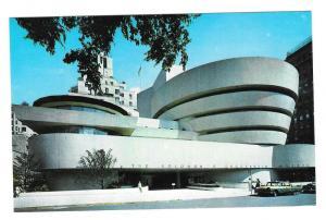 Guggenheim Museum New York NY Frank Lloyd Wright Postcard
